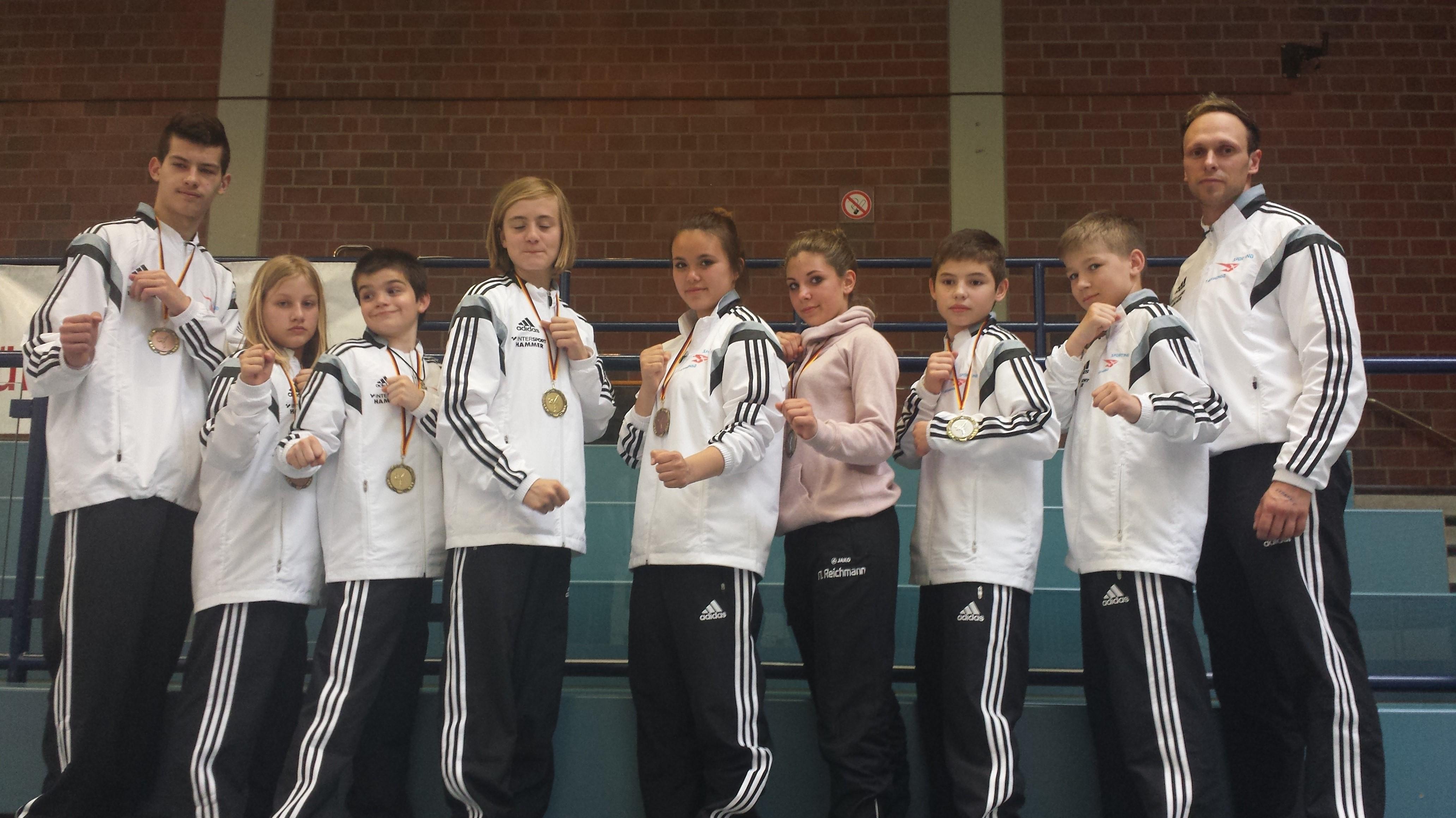 SPORTING Taekwondo erfolgreich beim Münsterlandcup