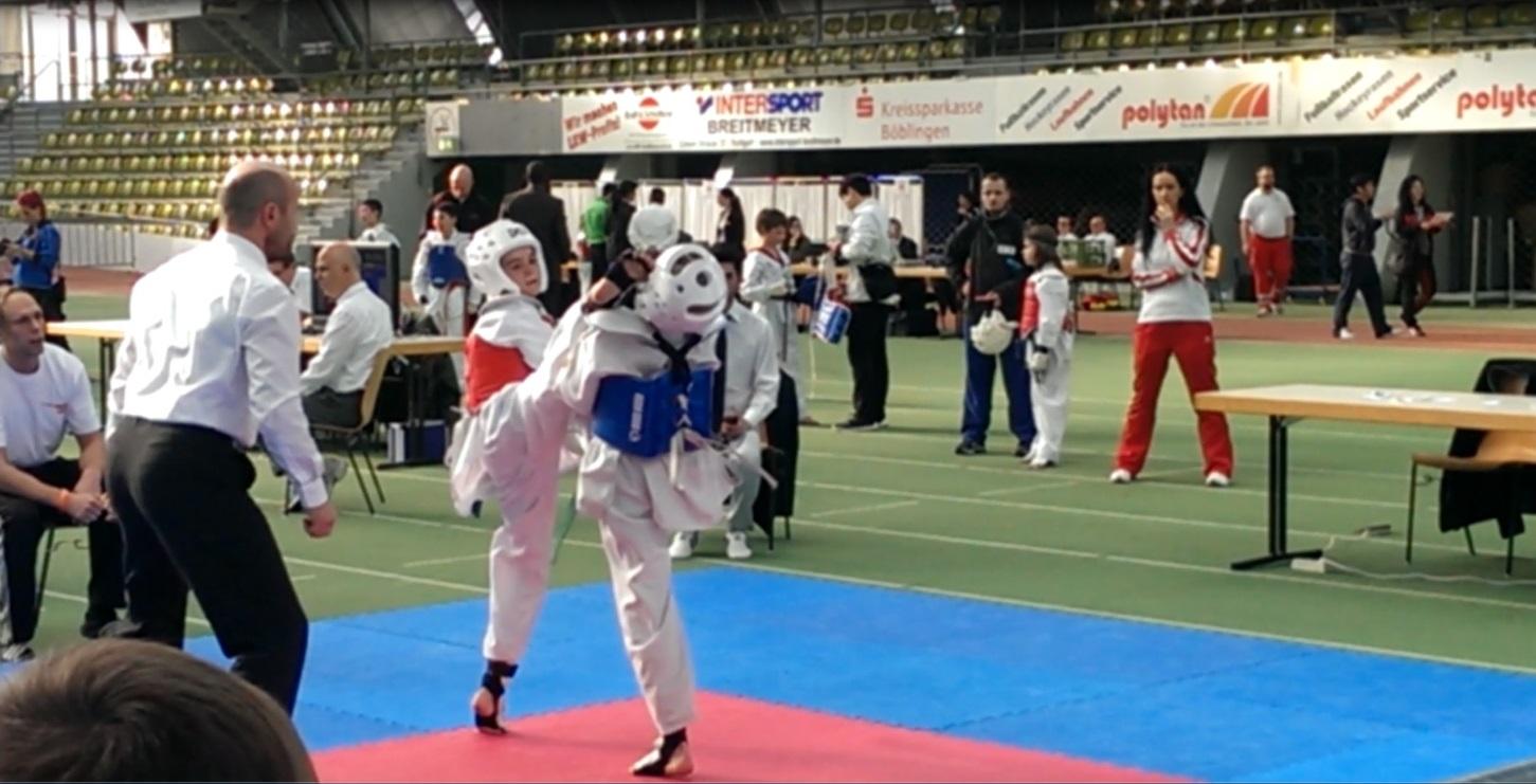 Moritz Pauli gewinnt Europas größtes Taekwondo Kinderturnier – Bronze für Lavinia Dujleag und Hannah Jolie Ulferts