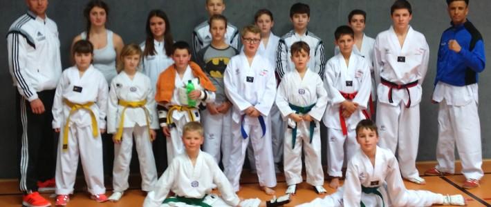 5x Gold und 11 weitere Medaillen zum Jahresauftakt für SPORTING Taekwondo