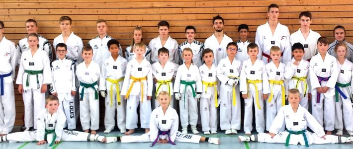 SPORTING Taekwondo gewinnt den Rheinland-Pfalz-Pokal 2016 – 27 Medaillen nimmt unser Team mit heim