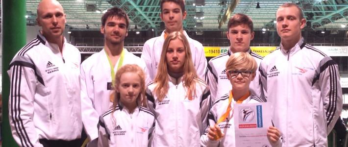SPORTING Taekwondo beweist wiederholt Stärke beim Park Pokal – Letztes Bundesranglistenturnier erfolgreich abgeschlossen