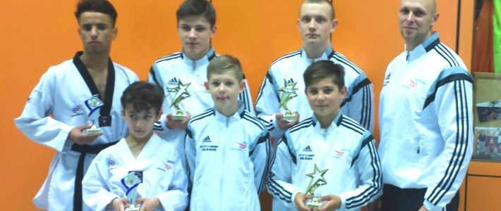 6 Medaillen in Luxemburg – SPORTING Taekwondo triumphiert international
