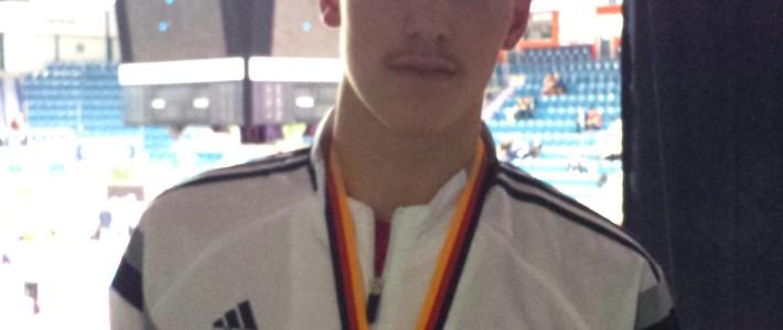 Julien Pascal Weber von SPORTING Taekwondo ist Deutscher Vizemeister 2017!!!