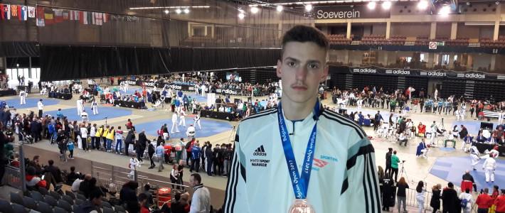 SPORTING Taekwondo holt Medaille auf Weltranglistenturnier – Julien Pascal Weber holt Bronze bei den Belgium Open 2017