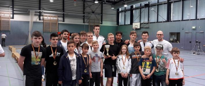 Hessen Pokal geht erneut an SPORTING Taekwondo! – Die Mannschaft um Eugen Kiefer sammelt doppelt so viele Punkte wie der zweitplatzierte Verein