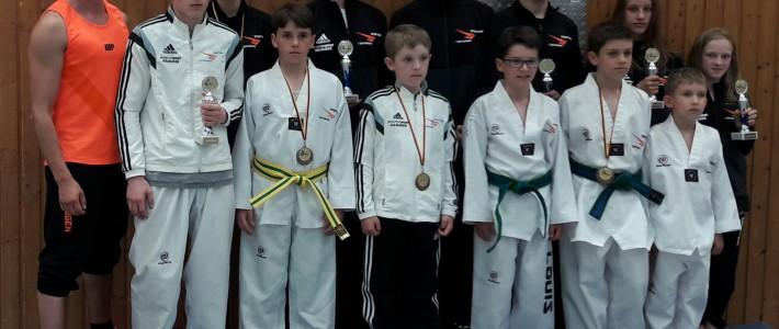 SPORTING Taekwondo kehrt mit 10 Medaillen von der Saarland Open zurück
