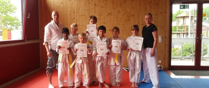 SPORTING Taekwondo Schulprojekt mit Michael-Ende-Schule trägt Früchte