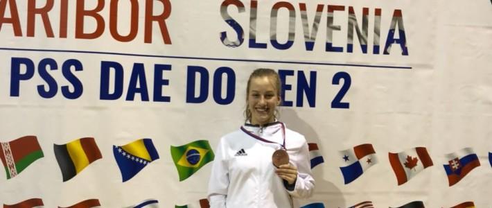 Jill holt weitere Weltmedaille in Slowenien