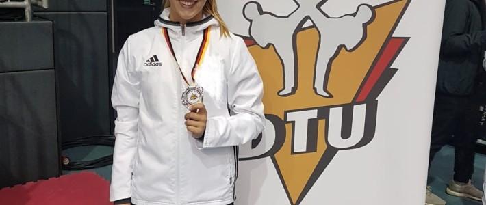 Jill-Marie Beck ist Deutsche Vizemeisterin