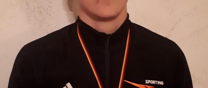 Julien Pascal Weber gewinnt die Silbermedaille beim Münster-Detmold-Cup