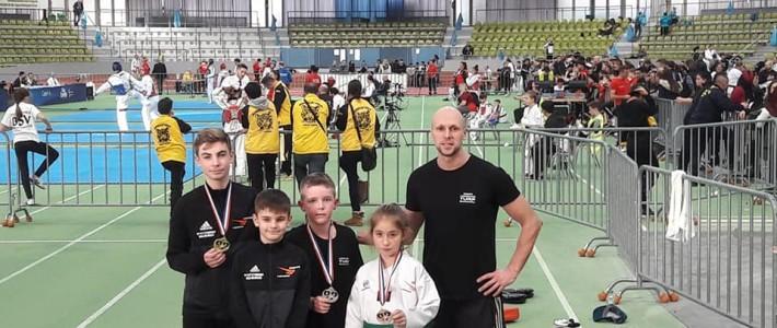 Erneut Medaillen auf Internationaler Bühne – SPORTING Taekwondo räumt ab!