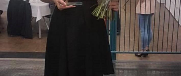 Jill Marie Beck vom Bundesverband als beste Kämpferin 2018 ausgezeichnet
