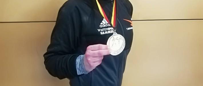 Kerstin Klinkau holt Bronze in der Oldie-Klasse