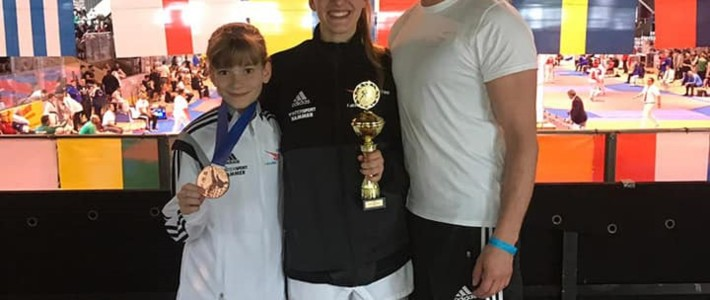 1 x Gold und 2 x Bronze bei den Berlin Open!