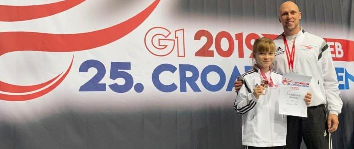 Bronze in Zagreb!!! – Emily Kunz sammelt bei den Kroatien Open die ersten Punkte für die EM 2020
