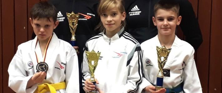 3 x Gold beim Münster-Detmold-Cup!!