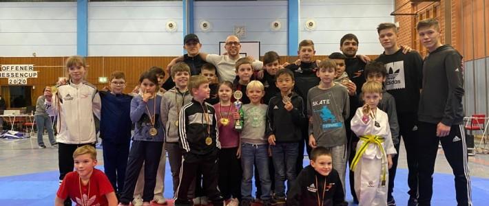 SPORTING Taekwondo – Wie gewohnt Mannschaftspokal bei Bundesranglistenturnier in Hessen erkämpft!!!